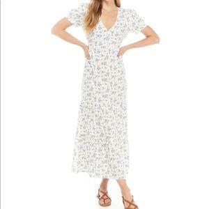 ❤️NWT $53 Tiered Floral Maxi Dress XS